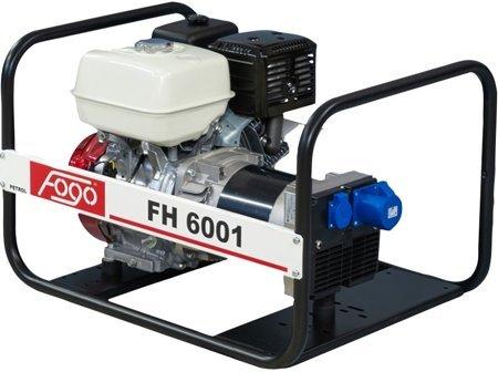 Agregat prądotwórczy FOGO FH 6001 + Olej + Darmowa DOSTAWA