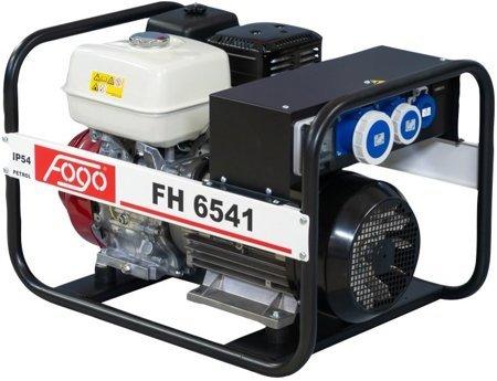 Agregat prądotwórczy FOGO FH 6541 + Olej + Darmowa DOSTAWA