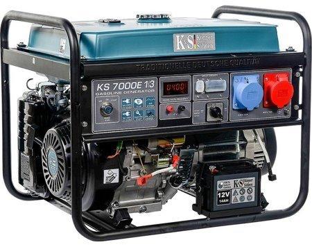 Agregat prądotwórczy KONNER & SOHNEN KS 7000E 1/3 + Olej + Zestaw Transportowy