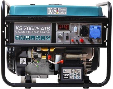 Agregat prądotwórczy KONNER & SOHNEN KS 7000E ATS + Olej + Zestaw Transportowy